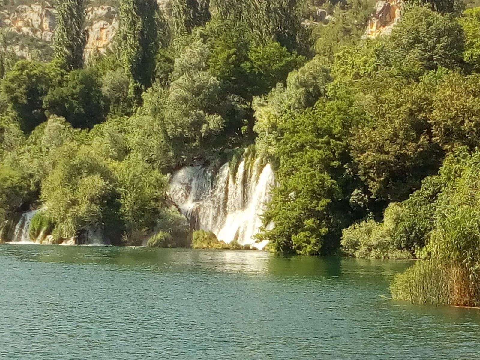 Der Wasserfall Roški Slap