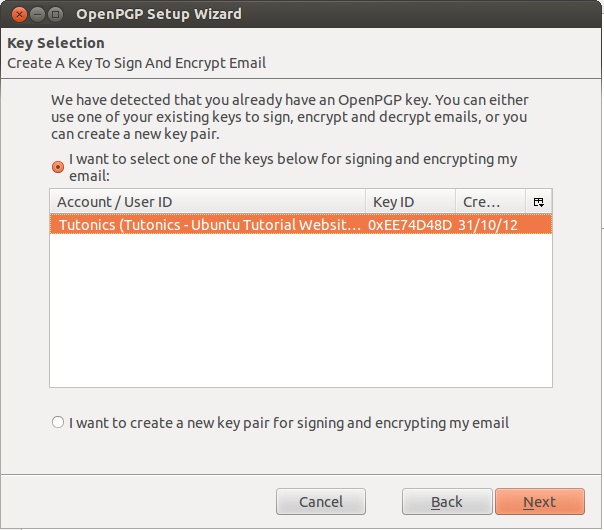 Encrypt & Sign Email Via Thunderbird Mail Using GPG - Tutonics