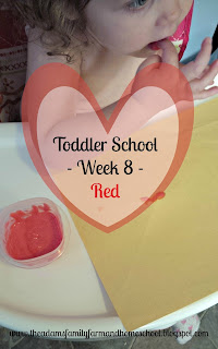 Toddler School - Red