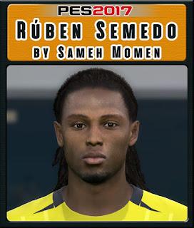 PES 2017 Faces Ruben Semedo by Sameh Momen