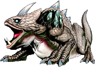 King Dodongo from Legend of Zelda: Ocarina of Time, Infernal Dinosaur