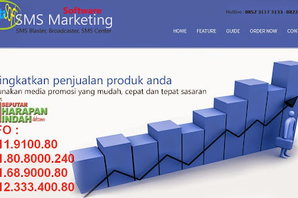 Software SMS Marketing Hadir di Kota Harapan Indah