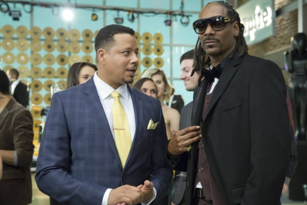 Lucious Lyon and Snoop Dog - Empire Casts