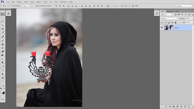 2 Design cover buku Novel dengan Photoshop CC