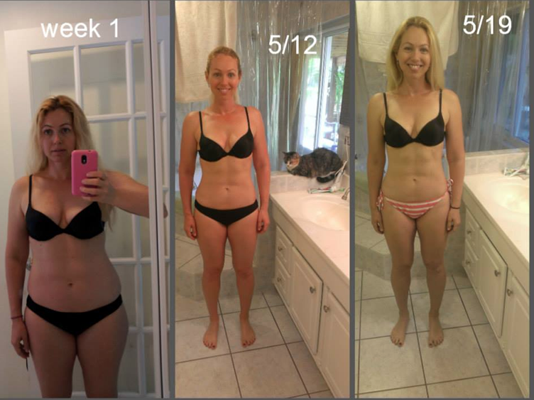 Margo Harris real women bikini body results