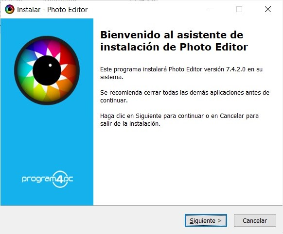 Program4Pc Photo Editor Full