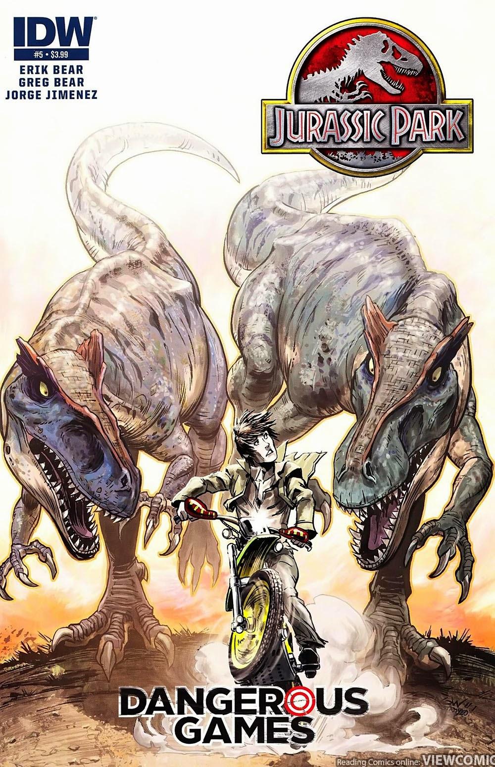 Jurassic Park | Viewcomic reading comics online for free 2019