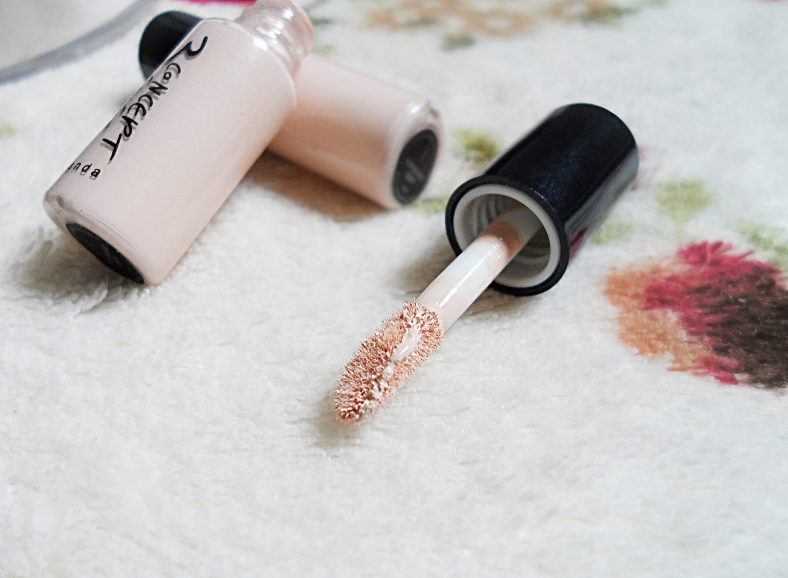 3 concept eyes makeup blogger review concealer swatches pictures liz breygel before after