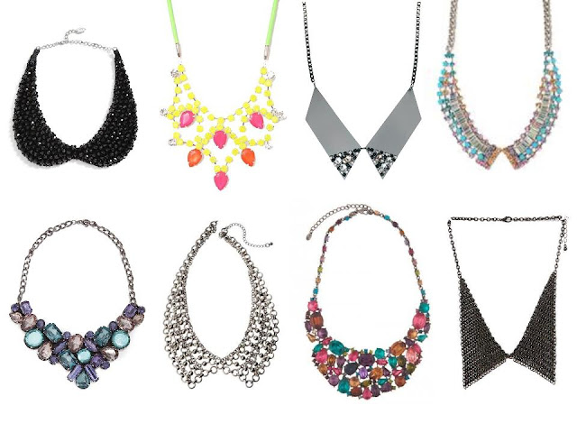 {Haute Trend} Collar & Bib Necklaces