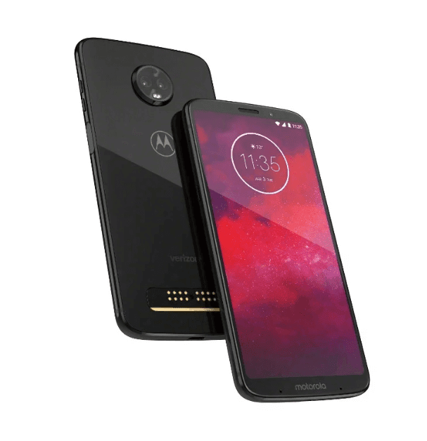 Motorola Unveils The Moto Z3 A Side-Mounted Fingerprint Scanner, 5G Moto Mod