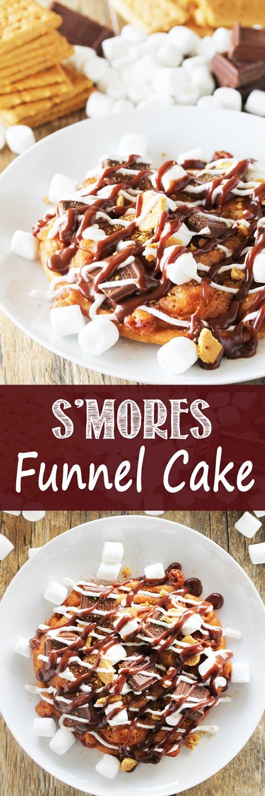 S'mores Funnel Cake