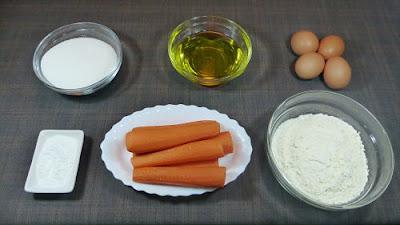 Magdalenas de zanahorias
