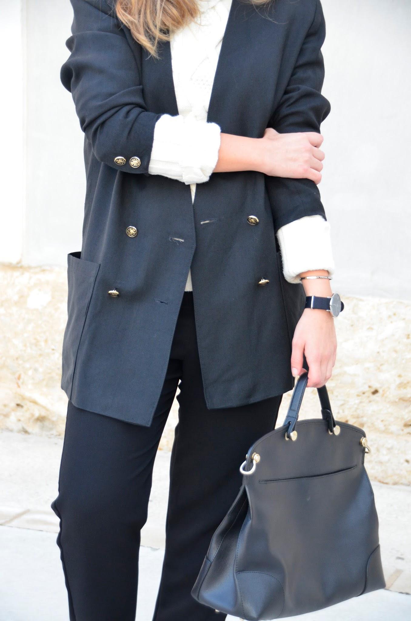 marine vintage jacket furla piper bag tarasessence blogger