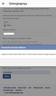 Cara mengembalikan akun instagram yang di blokir Penyebab Instagram di blokir, Bagaimana Cara mengembalikan akun instagram yang di blokir