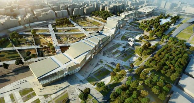 The Yenikapi Project | Eisenman Architects & Aytac Architects