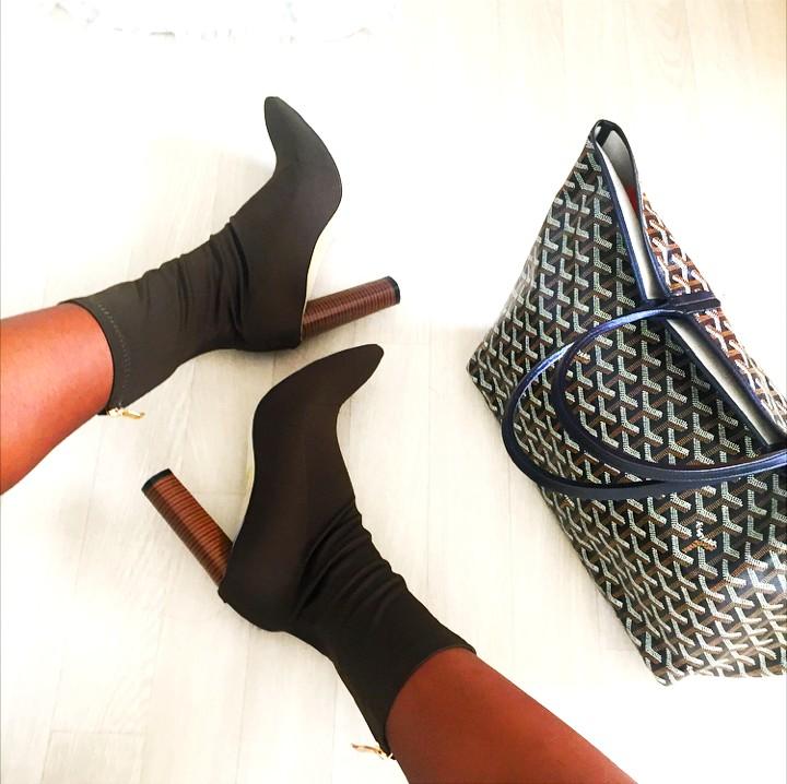 sock-boots-kaki-public-desire-goyard-bag
