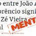 Senador João Alberto estaria aborrecido por ter nome utilizado indevidamente em factoide criado pela assessoria de Roberto Costa