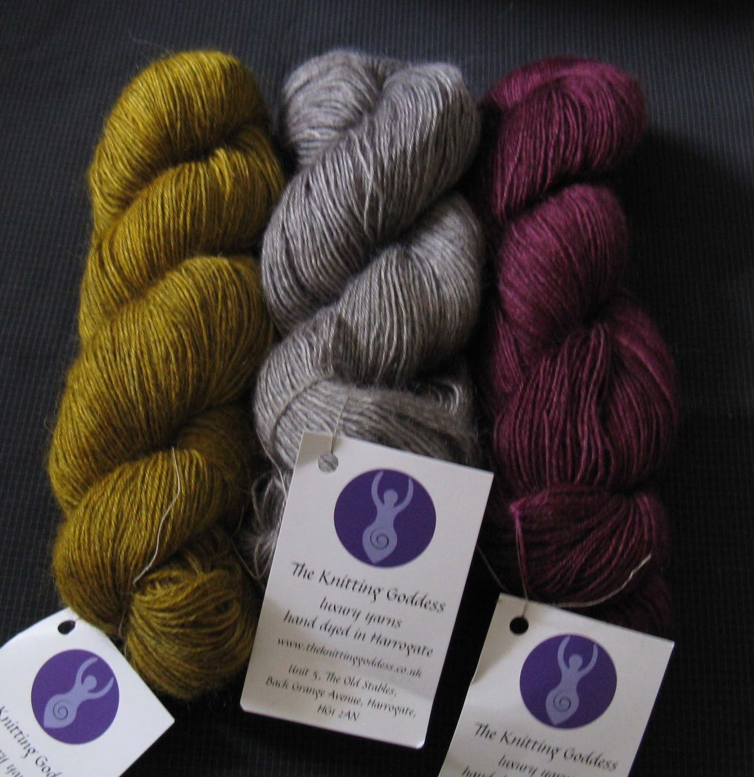 Knitting Goddess : Julia hedge s laces edinburgh yarn festival recap part
