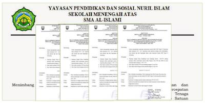 Contoh Surat Keputusan (SK) Kepala Sekolah  Untuk Berbagai Kegiatan Lengkap Terbaru