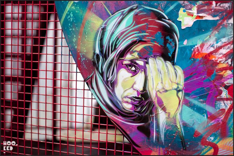 C215 - Shoreditch Street Art on Blackall Street, London