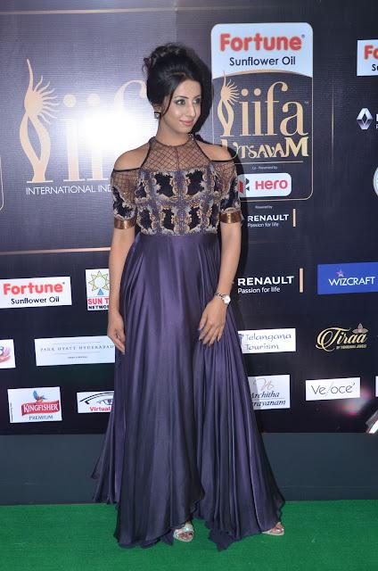 sanjana stills at iifa 2017