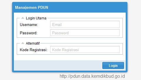 Cek Data Peserta UN/US 2016/2017 di pdun.data.kemdikbud.go.id