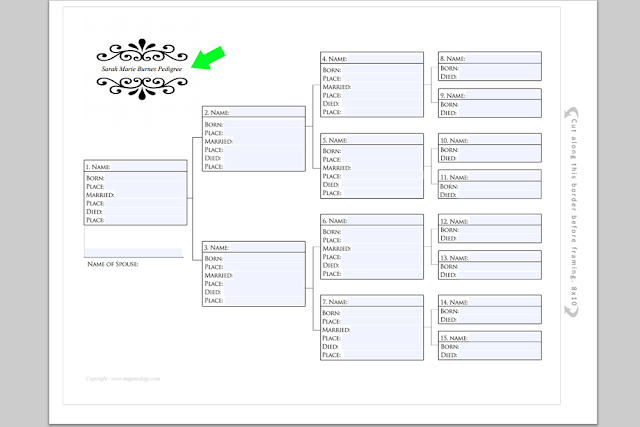free genealogy charts to download