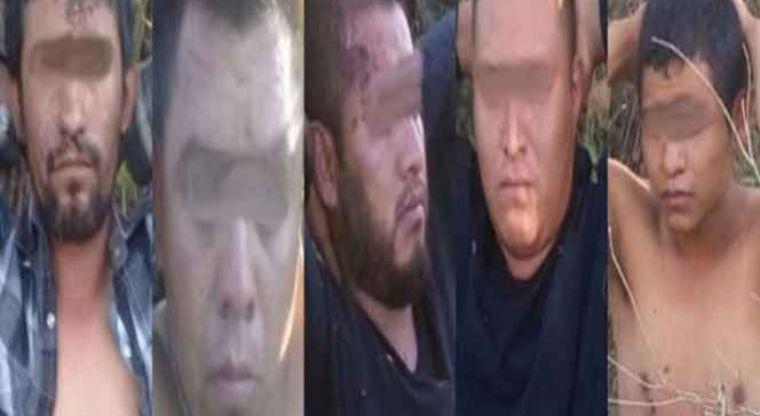 Cinco detenidos, traían fuerte arsenal y carros blindados