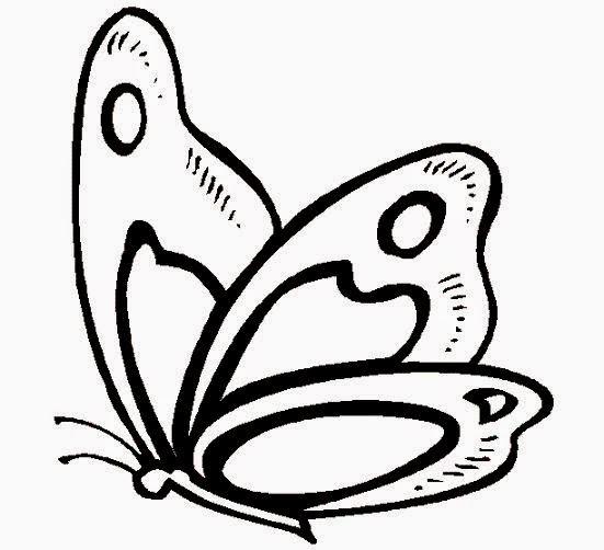 Mariposas para Colorear, parte 1 - IMÁGENES PARA WHATSAPP ® y Fotos ...