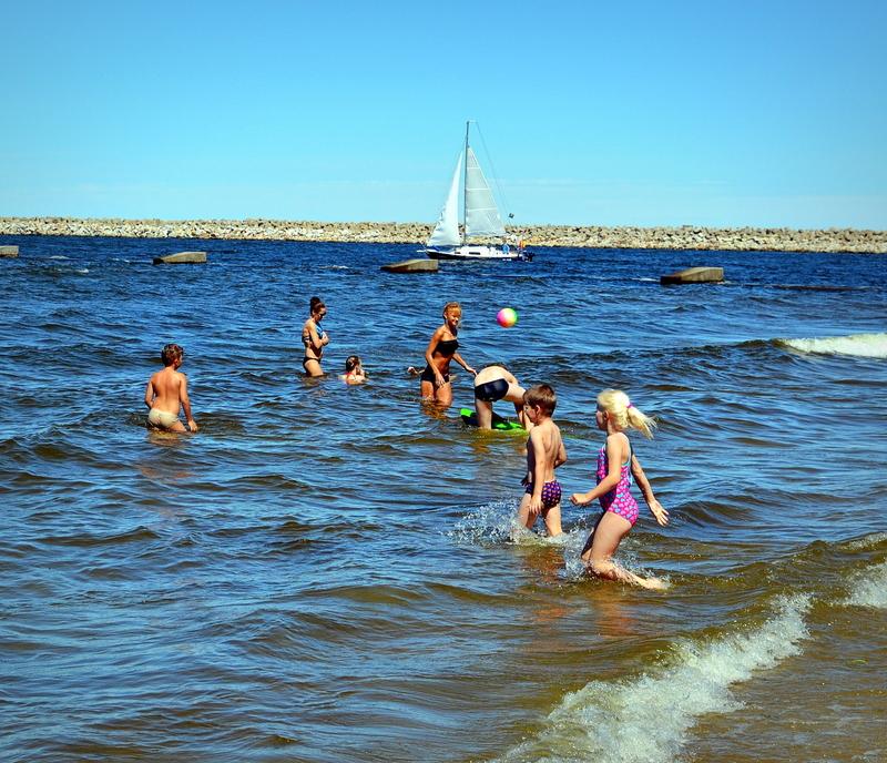 kapiel w morzu, ranking plaz, najpiekniejsza plaza, baltyk, polskie morze, zycie od kuchni