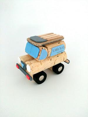 land rover, corchos, winecork, ideas con corchos, diy, handmade