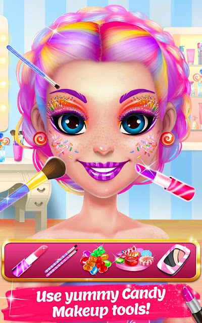 Candy Makeup Beauty Game – Sweet Salon Makeover