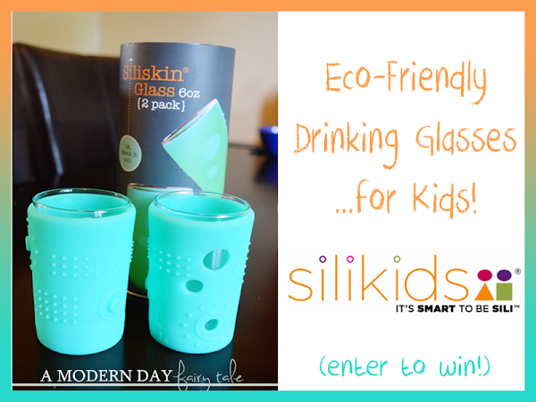 Eco-Friendly Drinking Glasses....For Kids! {A Silikids Review & Giveaway}