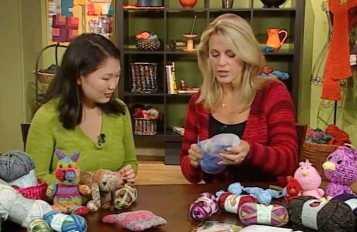 Crocheting on TV - Deborah Norville - Knitting Daily