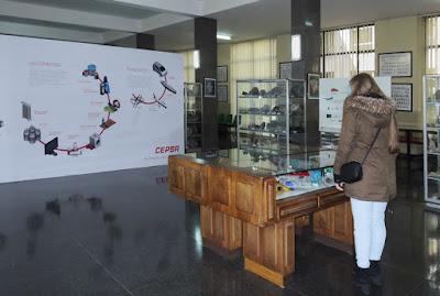 Exposición sobre hidrocarburos en la Escuela de Minas de Oviedo