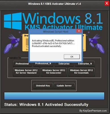 Windowa KMS Activator Ultimate  Terbaru  2017 3.4