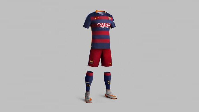 Wallpaper 2: FC Barcelona Team Equipment