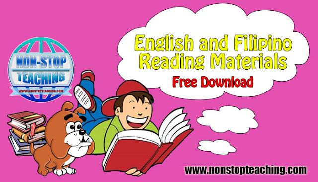 English and Filipino Reading Materials