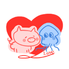 pig and squid