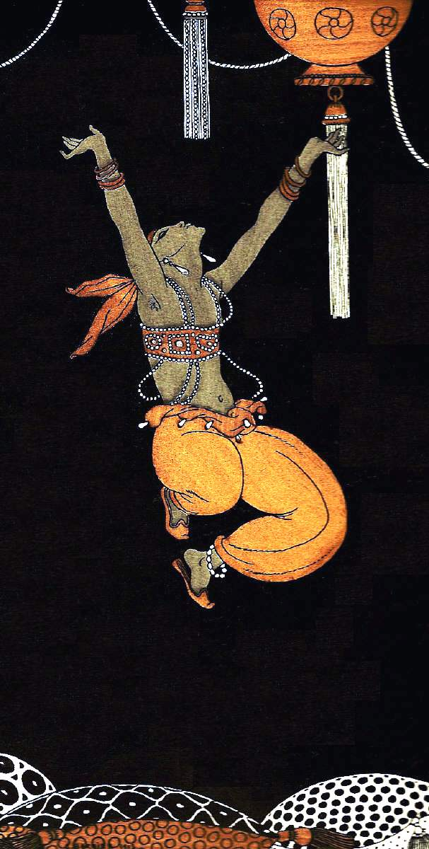 George Barbier leaping dancer