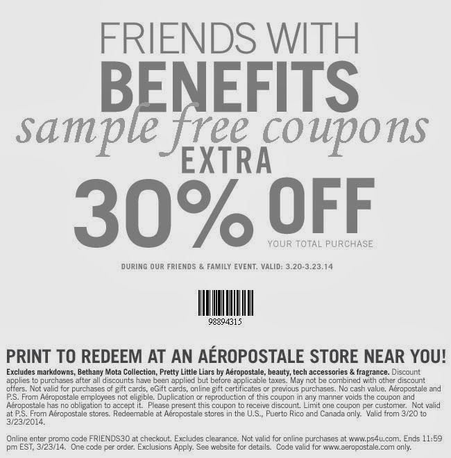 About Aeropostale. Aeropostale is a leader in cool clothes and accessories for young men and women - and right now, the coolest deals can be found when you use Aeropostale printable coupons and promo codes to save in-store or online.