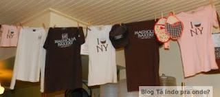 camisetas da Magnolia Bakery