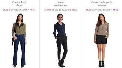 Camisas mujer ideales para vestir por la noche y en fiestas