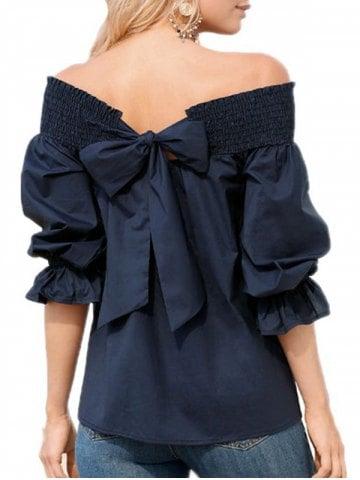 https://www.dresslily.com/ruffle-bowknot-half-sleeve-blouse-product7958307.html