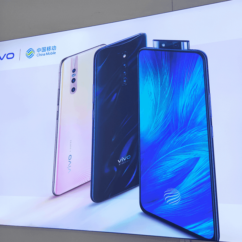 Vivo X27 and X27 Pro with pop-up camera and special flash leaks