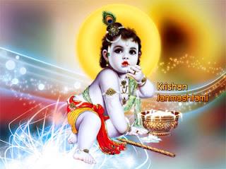 Happy Krishna Janmashtami 2015 Whatsapp Status