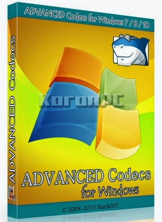 ADVANCED Codecs for Windows 7, 8 and 10
