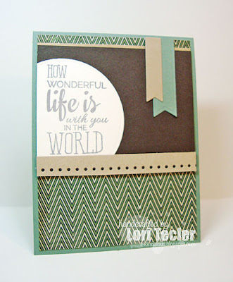 How Wonderful card-designed by Lori Tecler/Inking Aloud-stamps from Verve Stamps