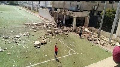 هجوم داعش, ملعب كرة قدم كركوك, الازهر, داعش,