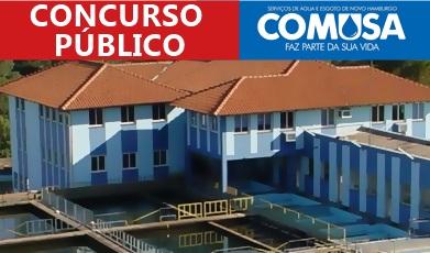Concurso COMUSA Novo Hamburgo-RS 2018